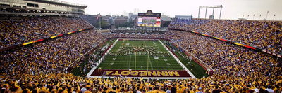 University of Minnesota - TCF Bank Stadium Panorama Photo