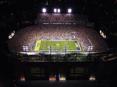 Louisiana State University - Aerial View of Tiger Stadium Photo