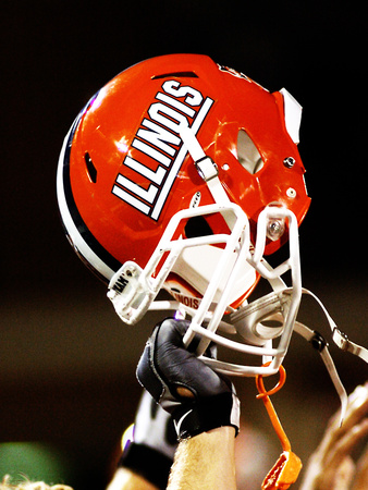 University of Illinois - Illinois Helmet Photo