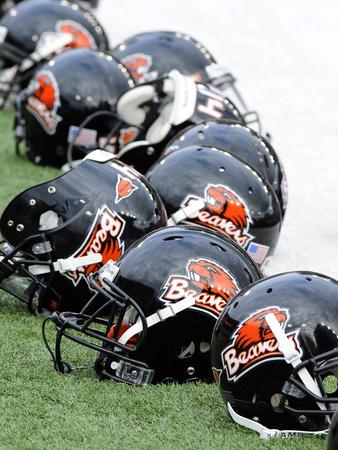 Oregon State University - Oregon State Football Helmets Photo