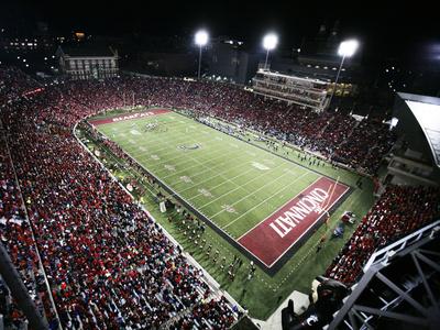 University of Cincinnati - Nippert Stadium, the Home of Bearcat Football Foto