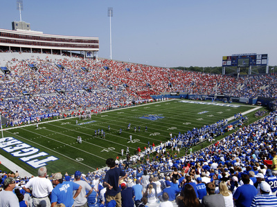 University of Memphis - Liberty Bowl Memorial Stadium Photo by Joe Murphy