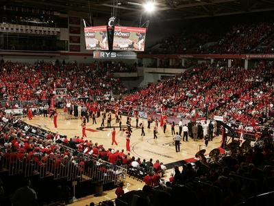 University of Cincinnati - Inside Fifth Third Arena Foto
