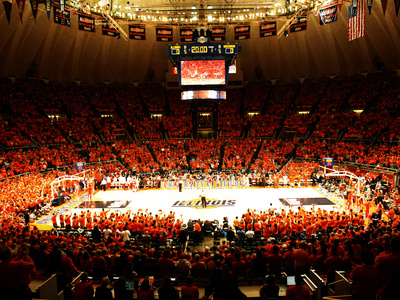 University of Illinois - Paint the Hall Orange Photo