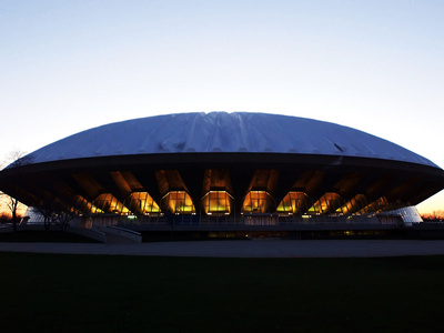 University of Illinois - Assembly Hall at Dusk Photo