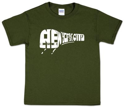Youth: New York City Subway Shirts