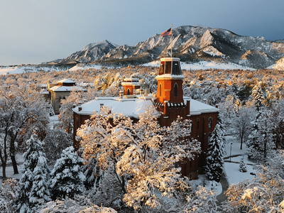 University of Colorado - Old Main Foto