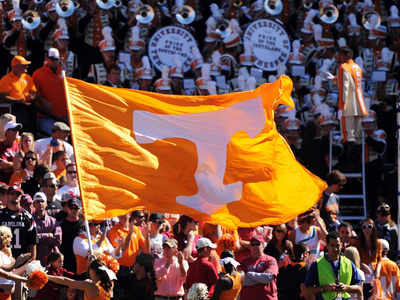 University of Tennessee - Tennessee Flag Photo