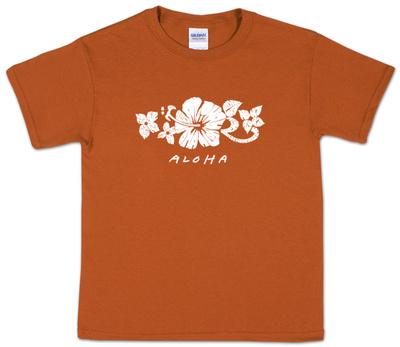 Youth: Aloha Word Art Shirts