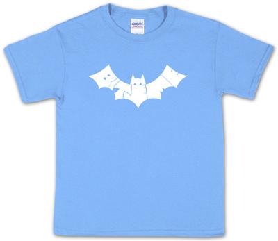 Youth: Bite Me Bat Word Art Shirts