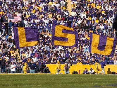 Louisiana State University - LSU Flags Photo