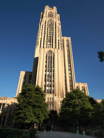 University of Pittsburgh - Cathedral of Learning on a Clear Day Photo by Will Babin