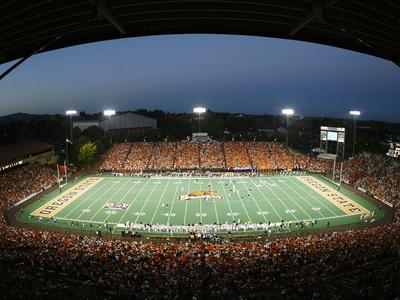 Oregon State University - Reser Stadium Night Game Photo