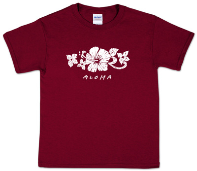 Youth: Aloha Word Art T-Shirt