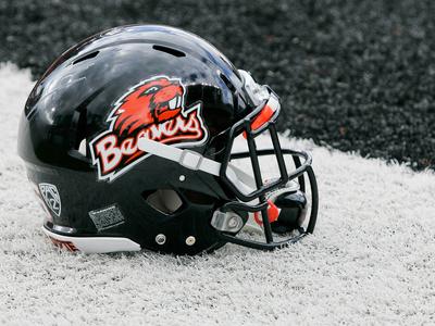 Oregon State University - Oregon State Beavers Football Helmet Photo
