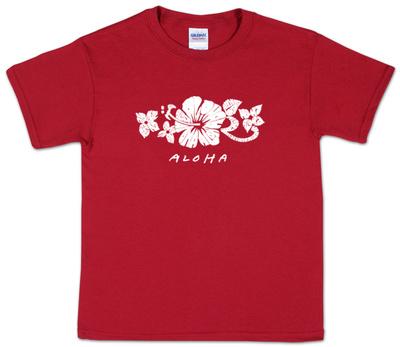 Youth: Aloha Word Art Shirt