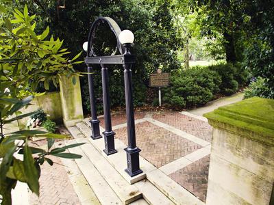 University of Georgia - University of Georgia Campus Entrance Photo