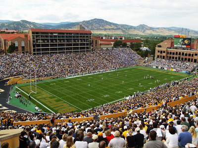 University of Colorado - Folsom Field Foto