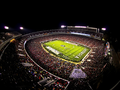 University of Georgia - Sanford Stadium Photo by Matt Smith