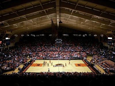 Oregon State University - Oregon State vs Oregon at Gill Coliseum Photo