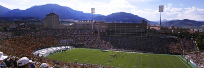 University of Colorado - Folsom Field Panorama Foto af Tim Benko
