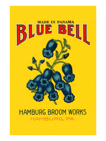 Blue Bell Broom Label Print