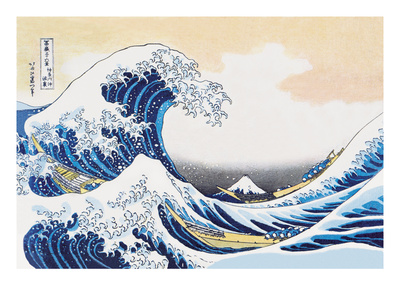 The Great Wave of Kanagawa Posters by Katsushika Hokusai