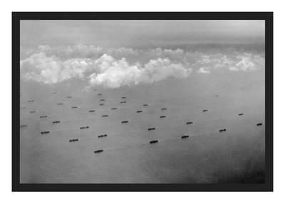 Convoy at Sea Prints by  U.S. Gov'T Navy