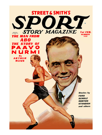 The Man from Abo; the Story of Paavo Nurmi Prints