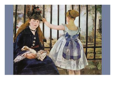 Le Chemin De Fer Prints by Édouard Manet