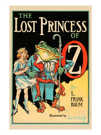 The Lost Princess of Oz Poster by John R. Neill