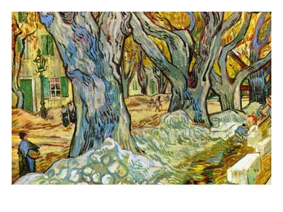 Roadman by Van Gogh Poster by Vincent van Gogh