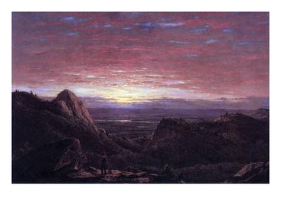 Morning Prints by Frederic Edwin Church