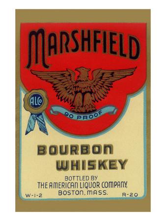 Marshfield Bourbon Whiskey Art