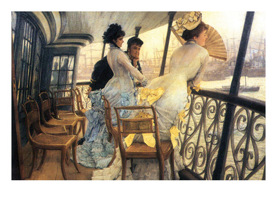 The Gallery of the H.M.S. Calcutta Posters by James Tissot