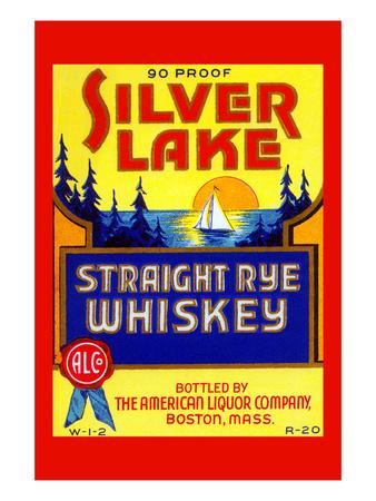 Silver Lake Straight Rye Whiskey Prints