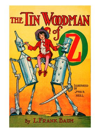 The Tin Woodsman of Oz Print by John R. Neill