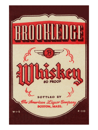 Brookledge Whiskey Posters