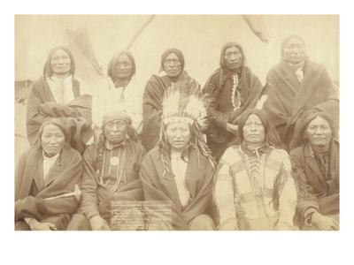 Lakota Chiefs Prints by John C.H. Grabill