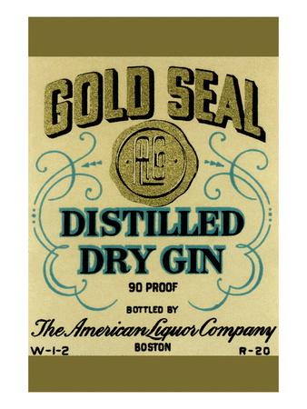 Gold Seal Distiller Dry Gin Prints