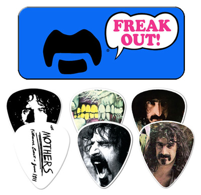 Frank Zappa - Blue Guitar Picks Guitar Picks