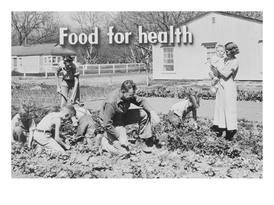 Homegrown Food Is Homegrown Wealth. Prints by Dorothea Lange