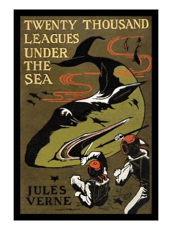 Twenty Thousand Leagues under the Sea Posters by Jules Verne