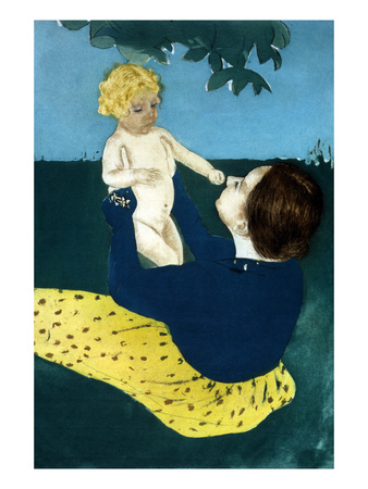 Under the Horse Chestnut Tree Posters by Mary Cassatt