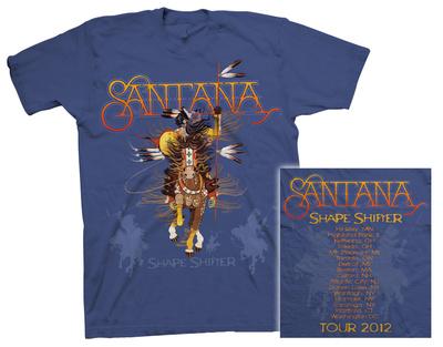 Santana - Shape Shifter Tour T-Shirts