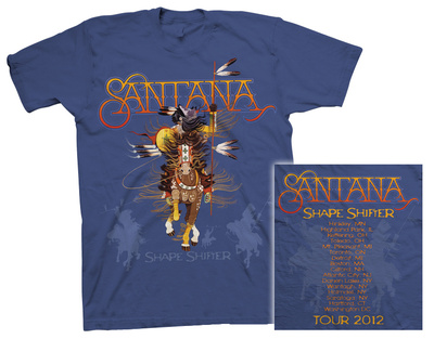Santana - Shape Shifter Tour T-shirts