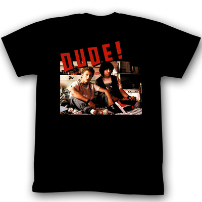Bill & Ted's Excellent Adventure -  Dude! T-Shirt