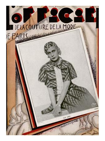 L'Officiel, September 1929 - Lady Abdy Prints by Madame D'Ora & S. Chompré