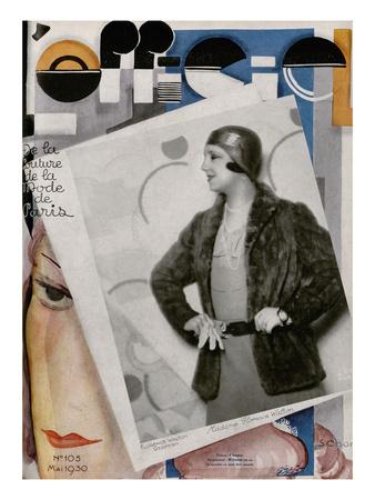 L'Officiel, May 1930 - Mme Florence Walton Prints by Madame D'Ora & S. Chompré