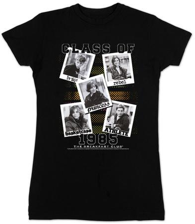 Juniors: The Breakfast Club - Class Of 1985 Shirts
